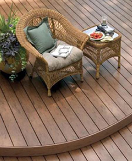防腐木塑木地板有哪些優點?