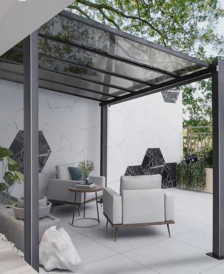 鋁合金門窗戶玻璃頂陽光房鋼化玻璃別墅露臺花園中空百葉